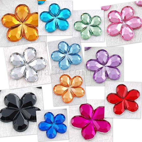 15 mm Jewels Flower