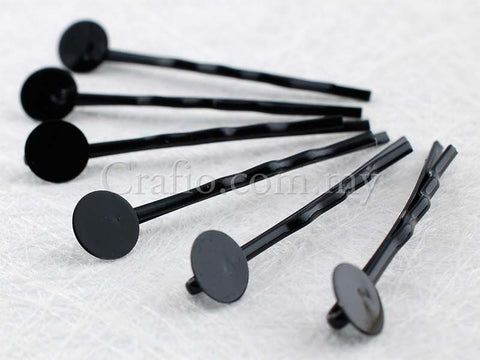 Black Metal Bobby Pin Hair Clip