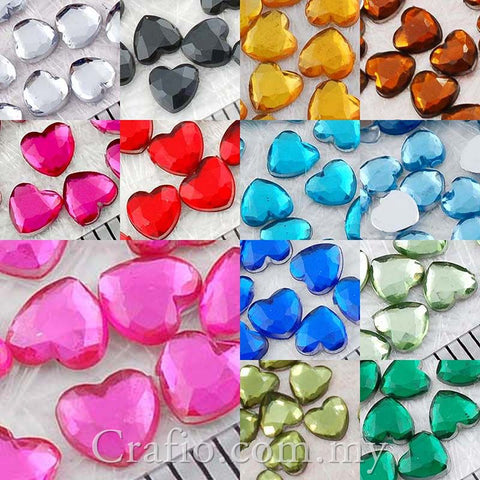 4mm Jewels Heart