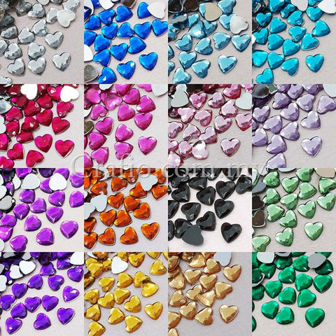 8 mm Jewels Heart