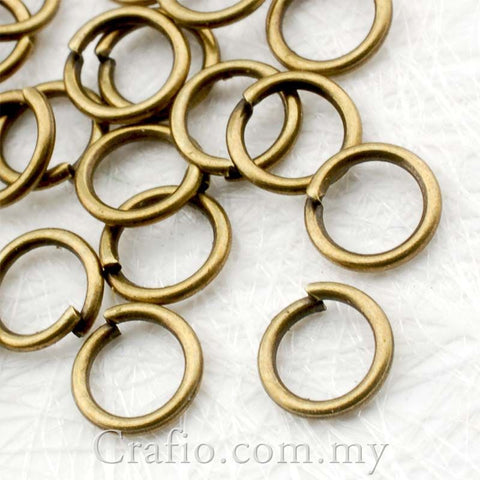 Antique Brass Jump Ring