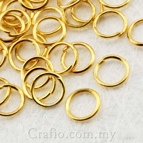 Gold Plated Jump Ring