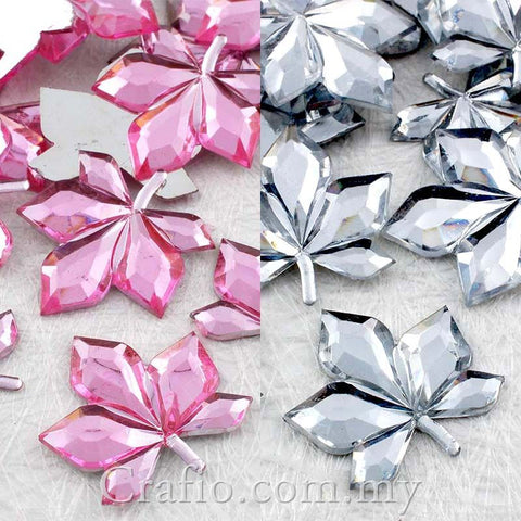 20 mm Leaf Jewels