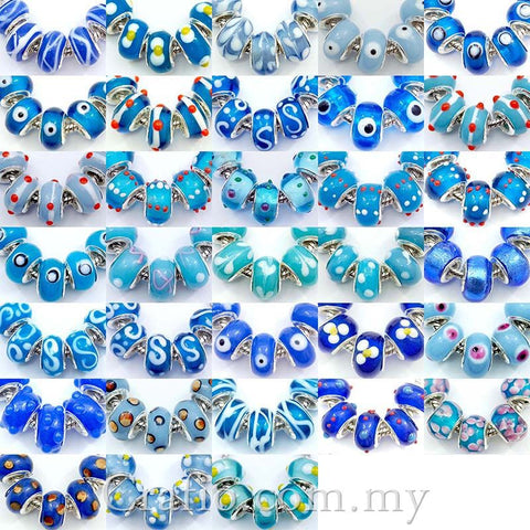 Lampwork Glass Beads Color of Choice