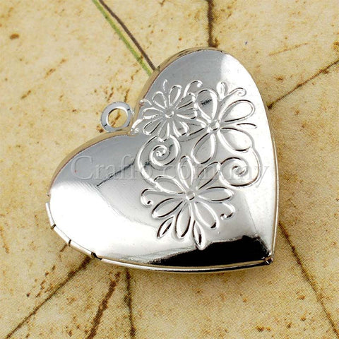 Heart-shaped Photo Lockets #1