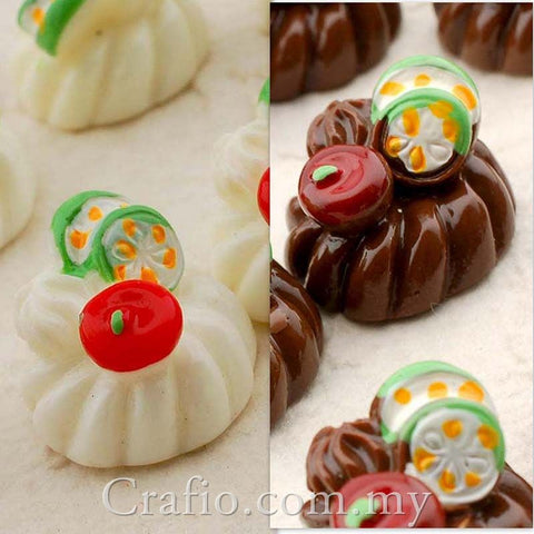 Jelly Pudding Resin Cabochon