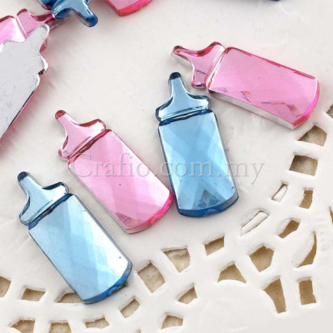 Baby Bottle Jewel Rhinestone