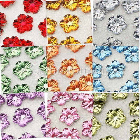 12 mm Ripple Flower Jewels