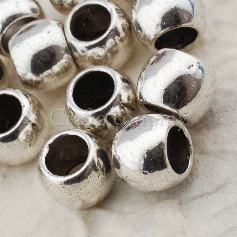 Tibetan Silver Spacer Beads (T8626)