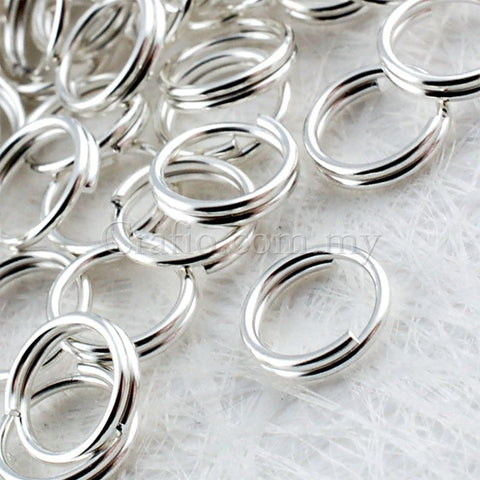 Silver Plated Split Ring