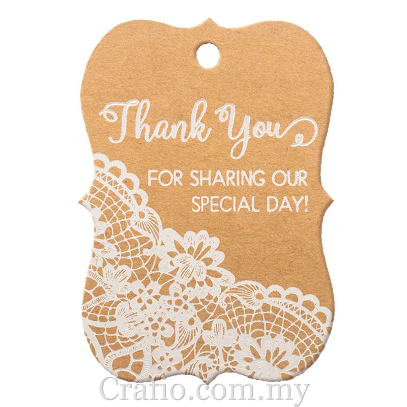 White Printing Thank You For Sharing Our Special Day Little Violin Kra Crafio Com My