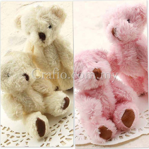 65 mm Mini Fluffly Teddy Bear