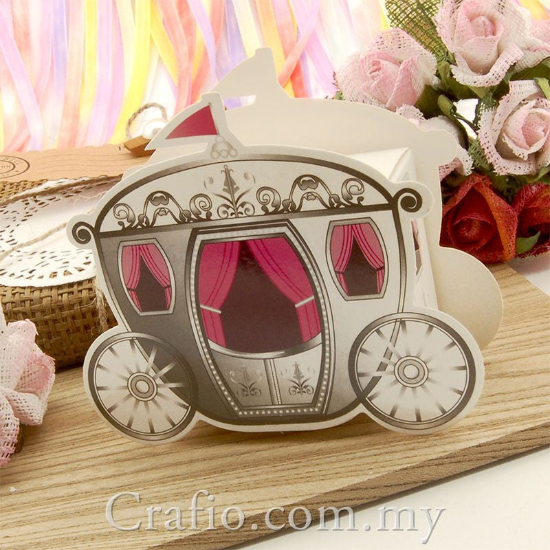 Cinderella Carriage Favour Boxes