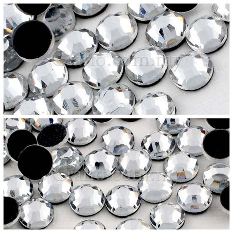 SS16 SS20 Clear Hot Fix Glass Rhinestones