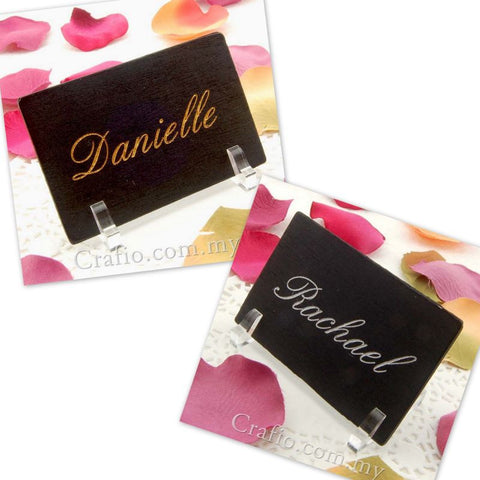 Personalized Blackboard Place Card