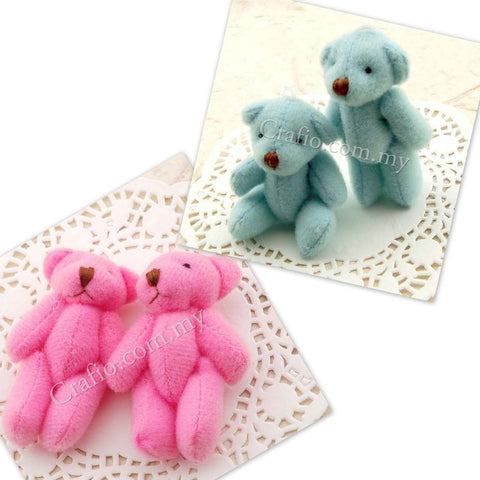 55 mm Mini Teddy Bear