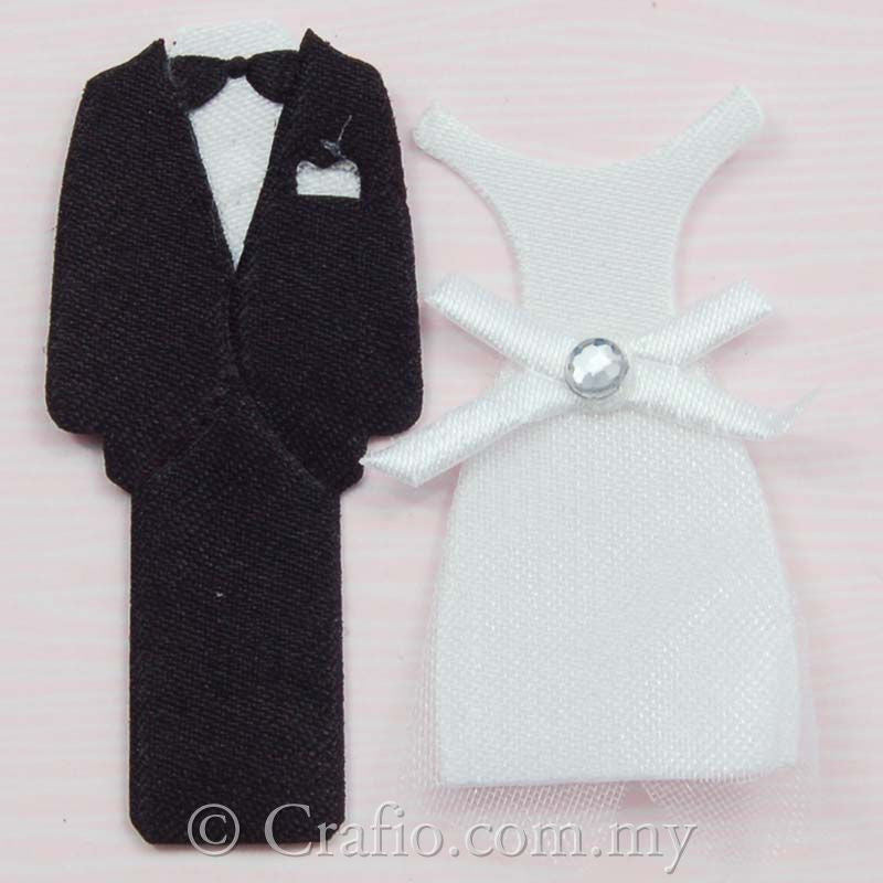 Tuxedo and Wedding Gown Fabric Embellishment