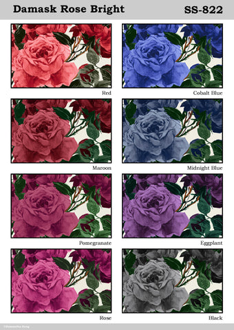 Damask Rose Bright