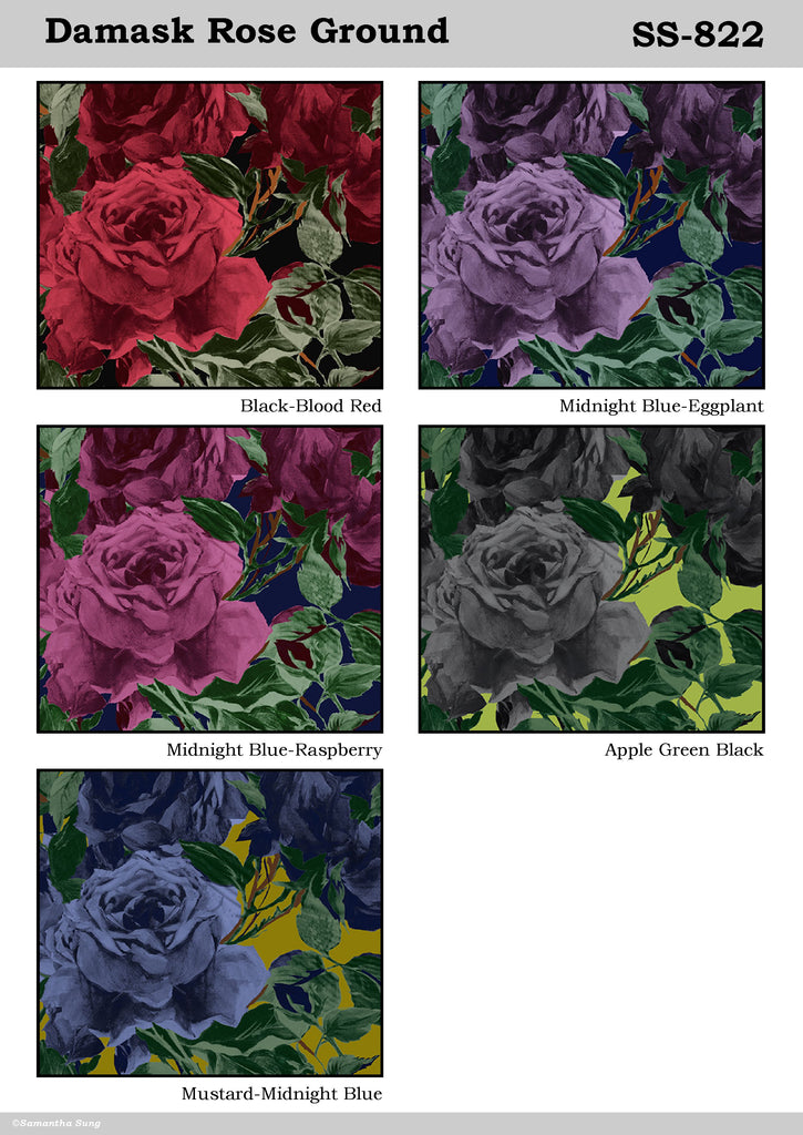 Damask Rose Ground