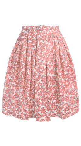 Claire Skirt Cotton Stretch (Corfu Rose)