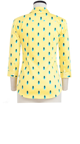Katharine Shirt 3/4 Sleeve Cotton Stretch (Grading Oval)