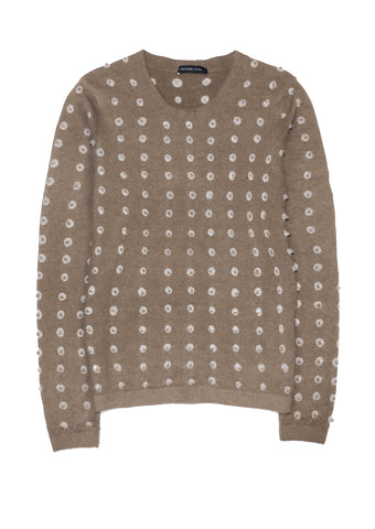 Carolina Pullover Crew Neck Long Sleeve (Knot Shibori)