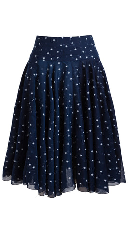 Aster Skirt Midi Cotton Musola (Mini Star)