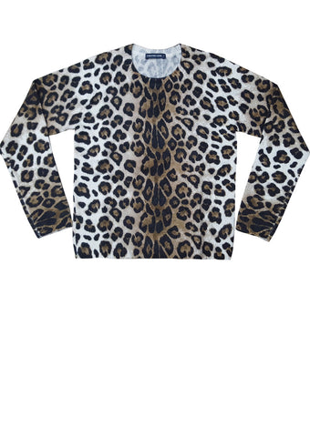 Colette Pullover 3/4 Sleeve (Leopard)