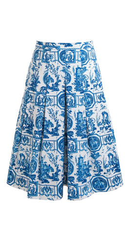 Donna Skirt Cotton Stretch (Toile Du Jour)