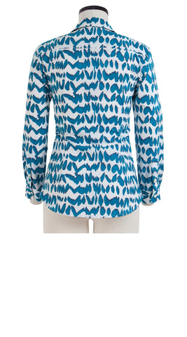 Katharine Shirt Long Sleeve Cotton Stretch (U Fan)
