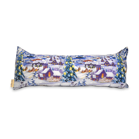 Holiday Lavender Bolster Pillow