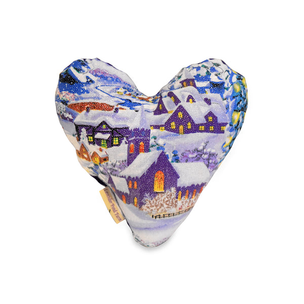 Holiday Heart Pillow
