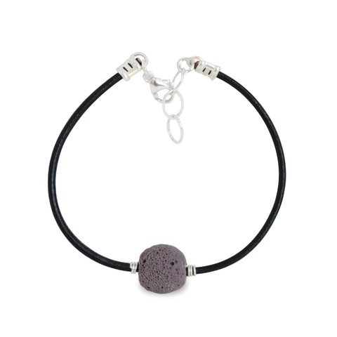 Leather Diffuser Bracelet by Susan Roberts