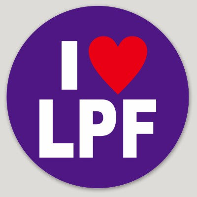 LPF Heart Sticker