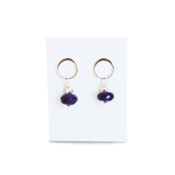 Luna Amethyst Earrings by Susan Roberts