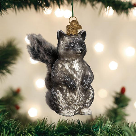 Old World Christmas Vintage Raccoon
