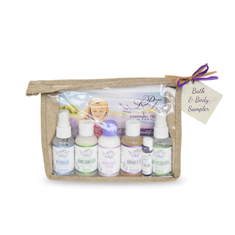 Lavender Bath & Body Sampler