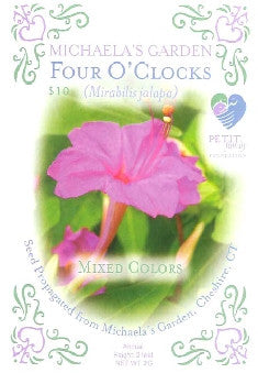 Michaela's Four O'Clocks