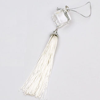 Square Jewel Tassel Ornament