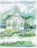 Lavender Pond Farm Watercolor Notecards