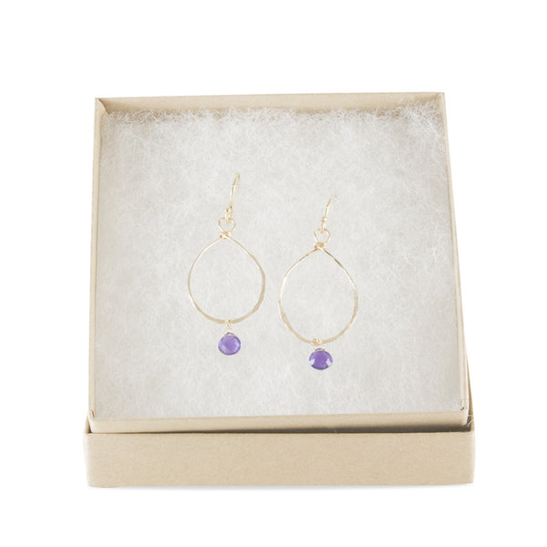 Lavender Earrings by Susan Roberts