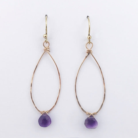 Lavender Lindon Earrings by Susan Roberts