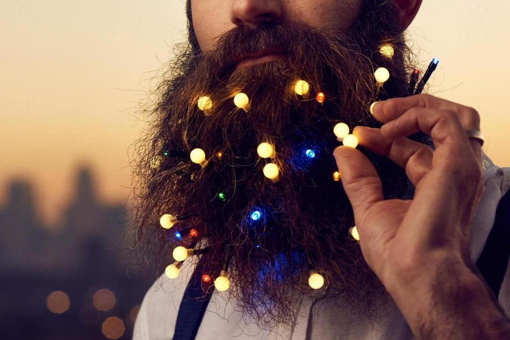 6 ingenious ways to decorate your beard this Christmas - Bearded Pleasures