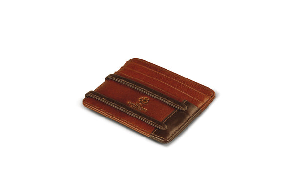 Heritage collection - UEFA Champions League Credit Card Case, Brown