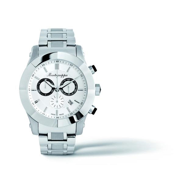 Nerouno Chronograph Watch - Silver
