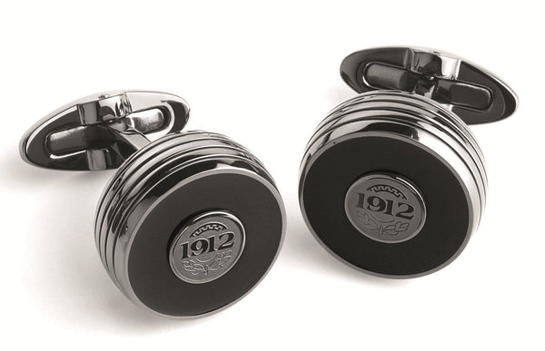 Piacere Cufflinks - Black & Gun Metal