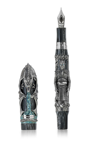 The Game of Thrones Winter Is Here Fountain Pen, Silver,
