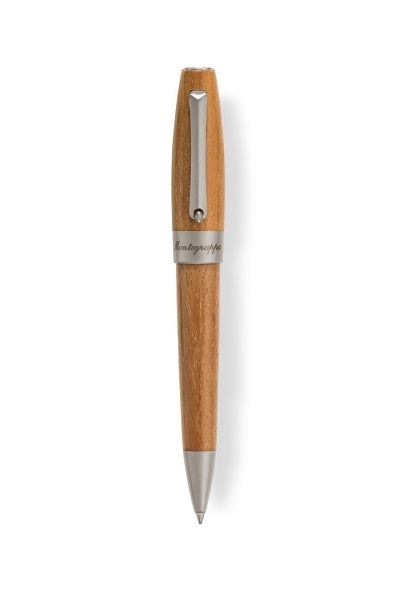 Heartwood Ballpoint Pen, Olive with Notebook
