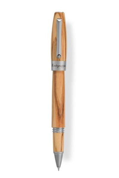 Heartwood Rollerball Pen, Olive with Notebook