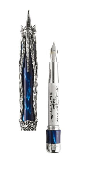 Salvador Dali Fountain Pen - Silver